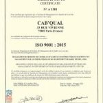 9001 conseil - Cab'Qual