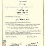 9001 formation - Cab'Qual