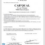 certif qualiopi cabqual 2021 - Cab'Qual